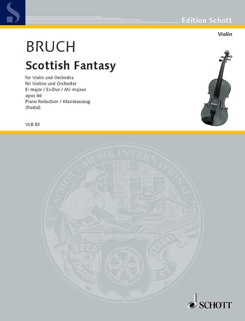 Scottish Fantasy in E flat Major op.46 image